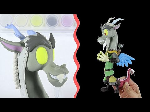 Custom My Little Pony DISCORD MLP Toy Figure DIY   SweetTreatsPonies