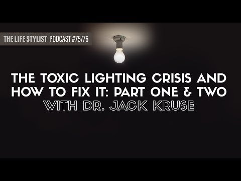 The Most Epic Jack Kruse Interview EVER! EP #75 & #76, The Life Stylist Podcast