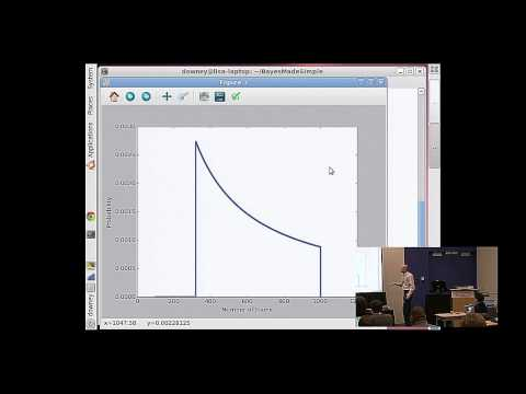 Allen Downey - Bayesian statistics made simple - PyCon 2015