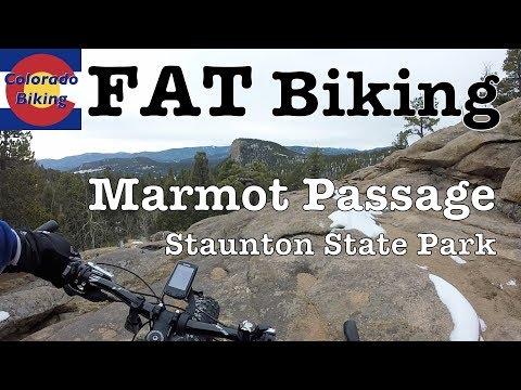 Fat Biking: Staunton State Park: Marmot Passage Descent