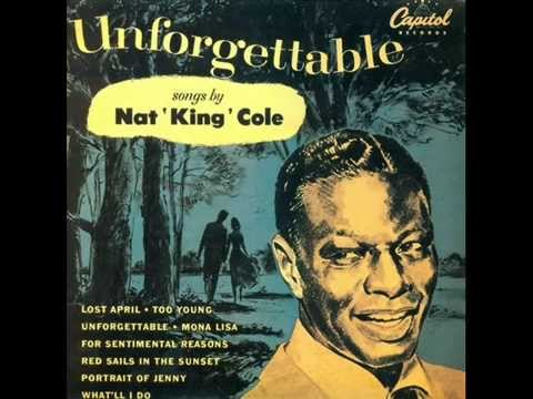 Nat King Cole With Les Baxter Orchestra - Mona Lisa