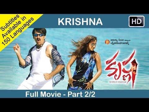 Krishna Telugu Full Movie Part 22  Ravi Teja, Trisha  Sri Balaji Video