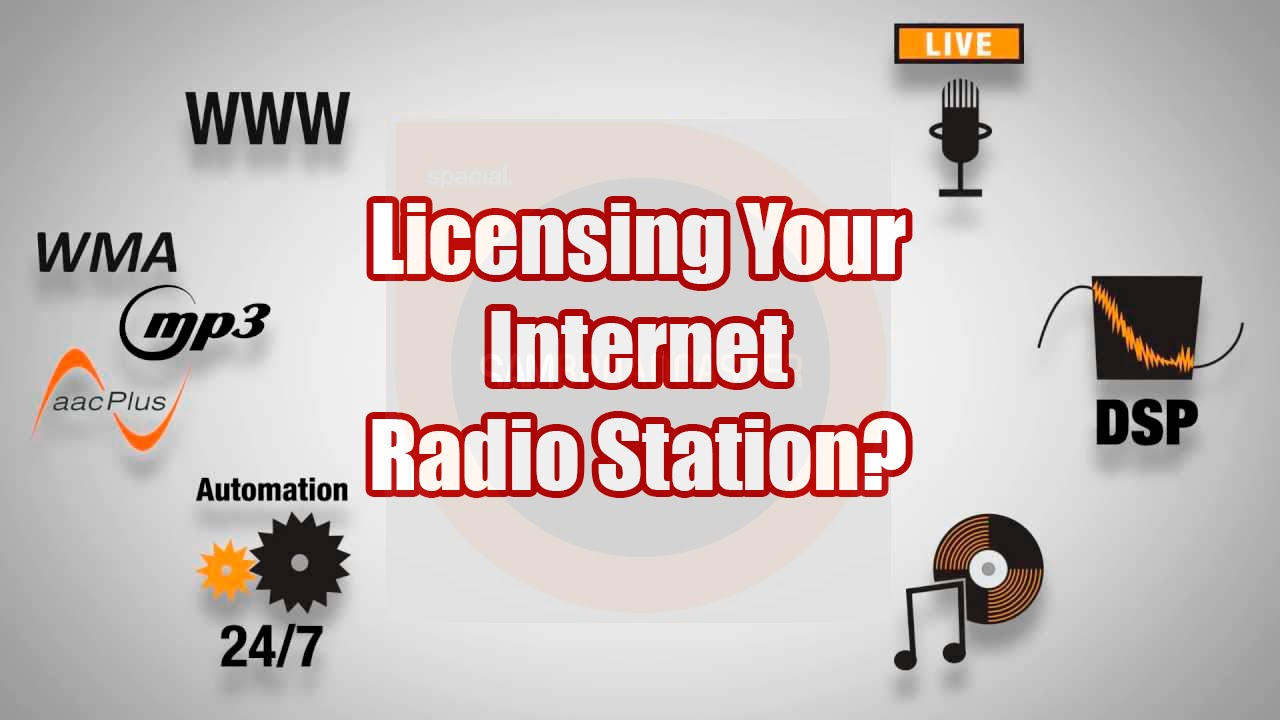 SAM Broadcaster-Licensing Your Internet Radio Station - A SAM Broadcaster Tutorial