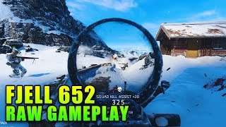 Fjell 652 Raw Gameplay - Battlefield 5 First Look