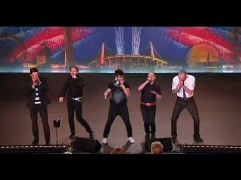 Gabbahey gör musik helt utan instrument - Talang (TV4)
