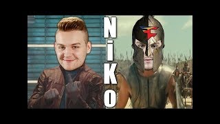 FREAKAZOID REACTS TO׃ NiKo The Notorious Juan CS׃GO