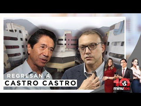 Yoshiyama y Figari tendrán que regresar a Castro Castro - 10 minutos Edición Tarde