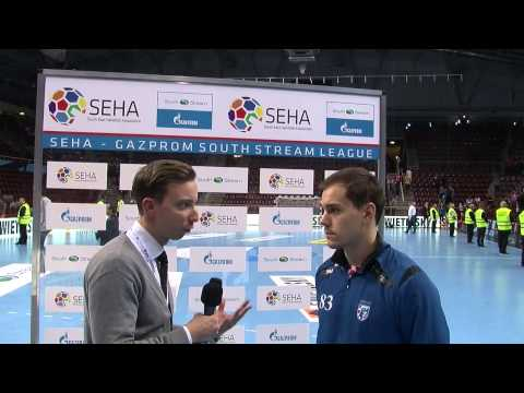 MKB-MVM Veszprem - PPD Zagreb - Post-Match Interview (SEHA GSSL, 22.10.2014.- 14/15 - Round 9)