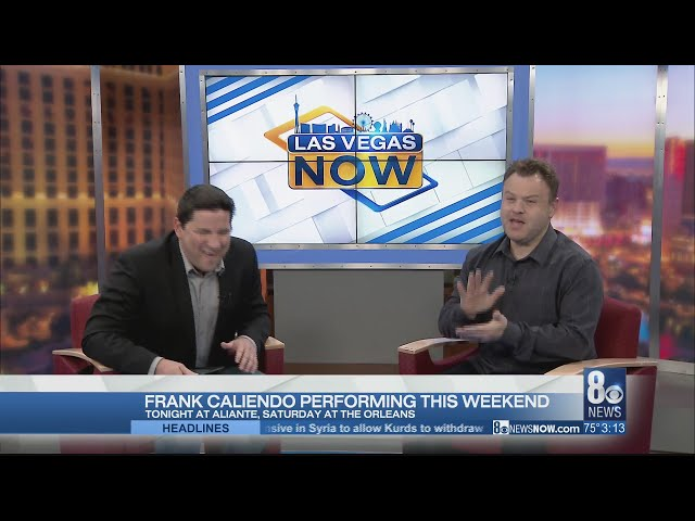 Frank Caliendo performing this weekend