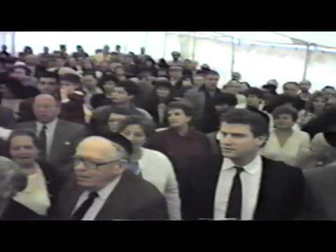 Magen David Yeshivah Celia Esses High School: Groundbreaking Ceremonies 10/11/1987