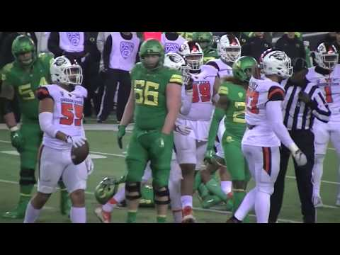 (Full Game Highlights) Oregon beats Oregon State 69-10 in the 2017 Civil War