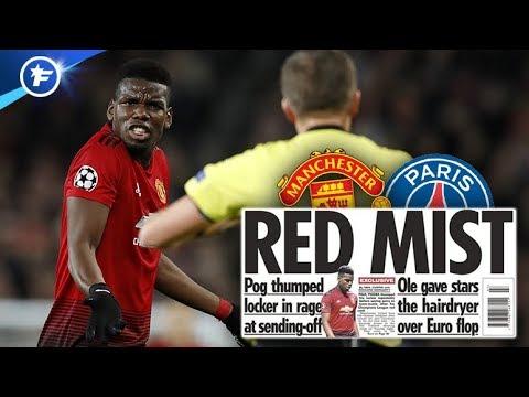 La colère de Paul Pogba après le match contre le PSG | Revue de presse
