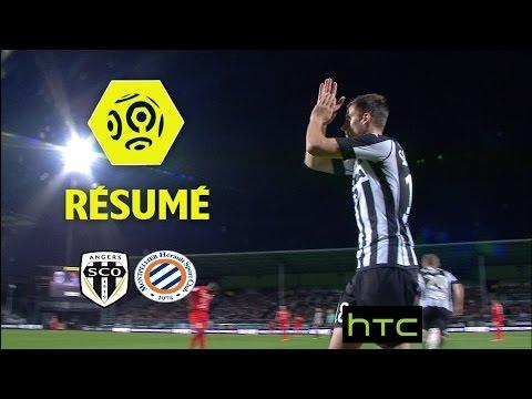 Angers SCO - Montpellier Hérault SC (2-0)  - Résumé - (SCO - MHSC) / 2016-17