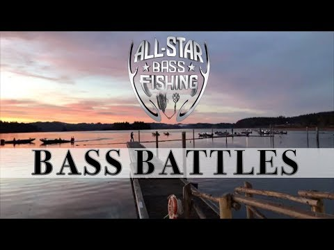 ALL-STAR BASS FISHING - Bass Battles On Siltcoos Lake