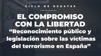 Imagen del video: Reconocimiento público y legislación sobre las víctimas del terrorismo en España