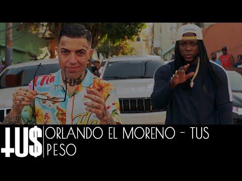 Смотреть клип Orlando El Moreno Feo X Tus - Peso