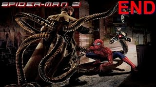 Spider-Man 2 PS2 Gameplay #9 [Spidey vs Doc Ock Final Battle]