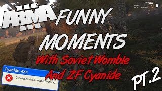 arma 3 funny moments with sovietwomble and zf cyanide