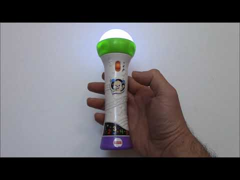 How To Use The Fisher Price Laugh & Learn Rock & Record Microphone And Review
