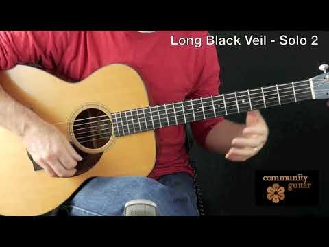 Long Black Veil  - Solo 2 - Community Guitar