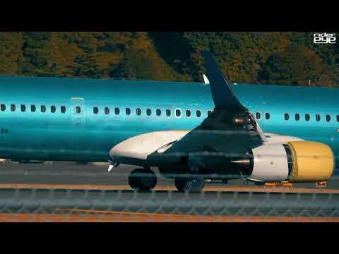 Test Flight  Delta Airlines B737 at Boeing Field/델타항공 B737 보잉필드 테스트 비행