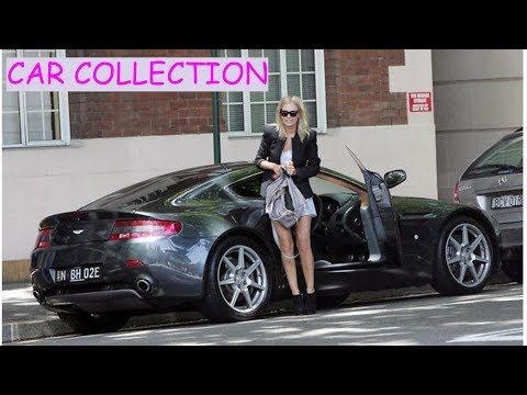 Lara Bingle  car collection