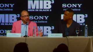 Men In Black 3: Press Conference Director Barry Sonnenfeld [HD]
