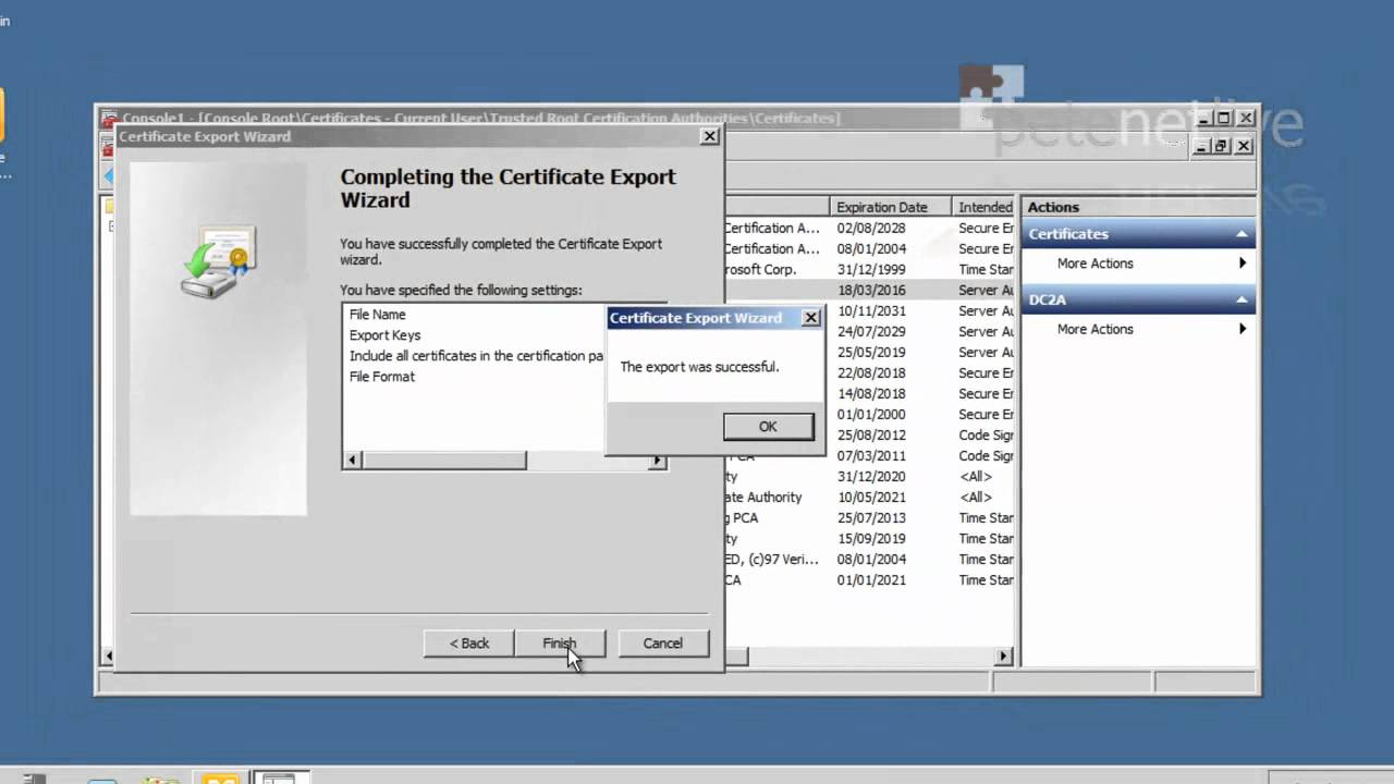 Windows Adding Certificates With Group Policy Youtube