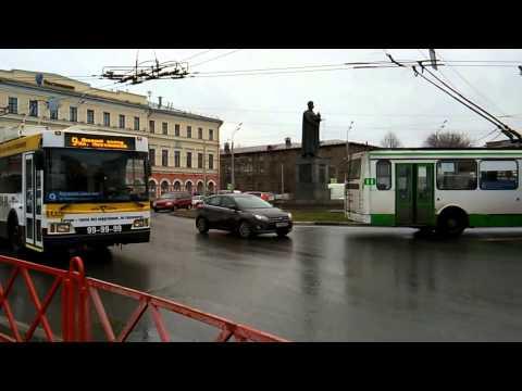 Public Transportation in Yaroslavl, Central Russia