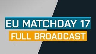 Full Broadcast - EU Matchday 17 B - ESL Pro League Season 5 - G2 Fnatic