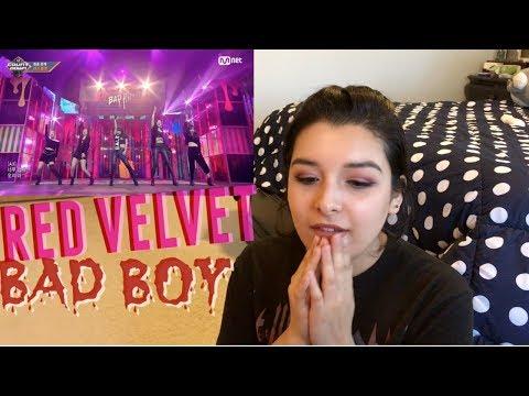 Red Velvet   Bad Boy Comeback Stage | REACTION