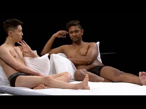 New Reality Show Sees Singles Strip Off And Get Into Bed Together - Awkward video shows strangers undressing eachother