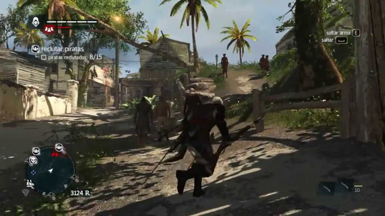 Assassin S Creed Iv Black Flag On Amd A8 6600k Apu With Radeon Tm Hd8570d Graphics Gameplay Youtube