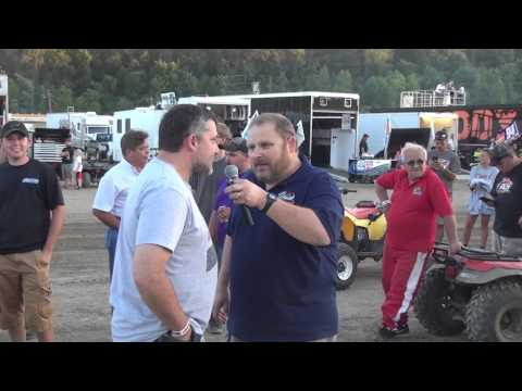 Tony Stewart interview by Jim Zufall before ASCoC race at PPMS 8/2/15.