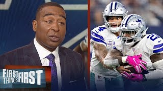 Cris Carter's keys to the Falcons vs. Cowboys Week 11 matchup | NFL | FIRST THINGS FIRST