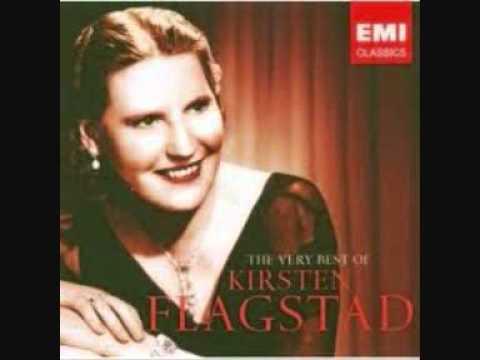 Kirsten Flagstad   If thou be near