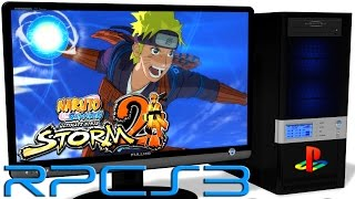 RPCS3 PS3 Emulator - Naruto: Ultimate Ninja Storm 2 (2010). Ingame. OpenGL (Auto LLE). Test #2