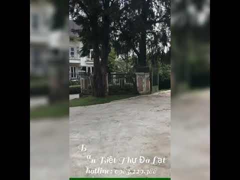 Bán biệt thự Đà Lạt, đường Bùi Thị Xuân, gần hồ Xuân Hương