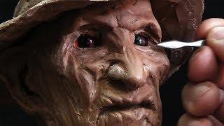 Скульптура Фредди Крюгера