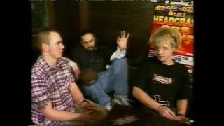 HeadCrash : Choke (VIVA Live Interview/Video, Krossover Festival-Berlin Germany, 1995)