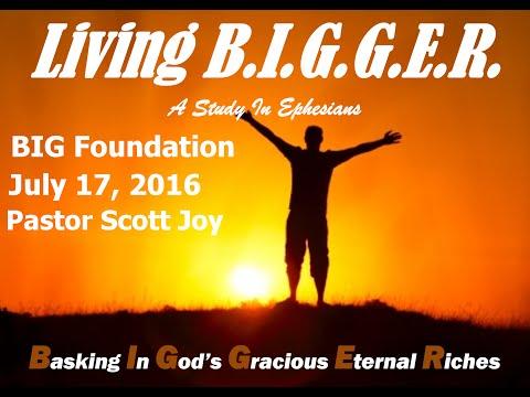 Big Foundation - Living B.I.G.G.E.R.