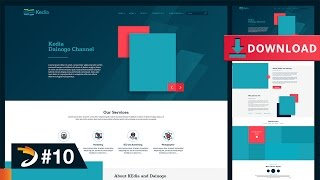 How to Create A Professional Website (Part 1)   Free Download