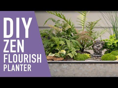 The Zen 🌿 Flourish Planter || West Coast Gardens