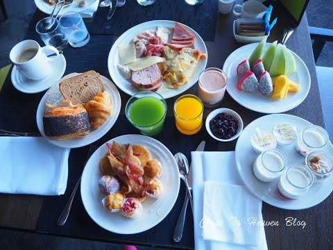 รีวิว บุฟเฟ่ต์ #30: Breakfast BUFFET @Movenpick Siam Hotel PATTAYA