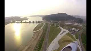 Drone footage of the ARC Theater Daegu S. Korea
