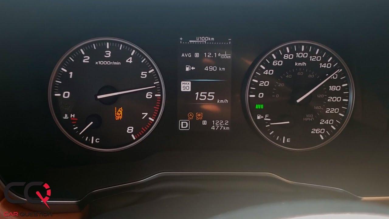 Subaru Legacy Turbo Acceleration Test 0 60 Mph 0 100 Km H Youtube