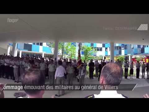"""""""Merci"""": le vibrant hommage des militaires au général de Villiers"""