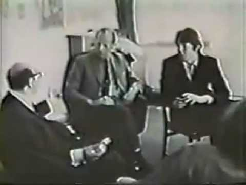 EXTREMELY RARE Beatles Apple meeting 1968.