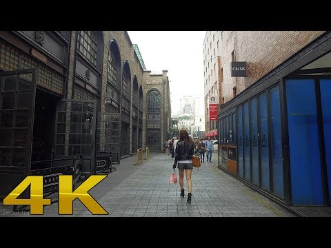 Seoul tour Itaewon, Seoul Korean 4K