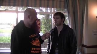 Serpentine Interview with Metal Gods TV at Hard Rock Hell 2012